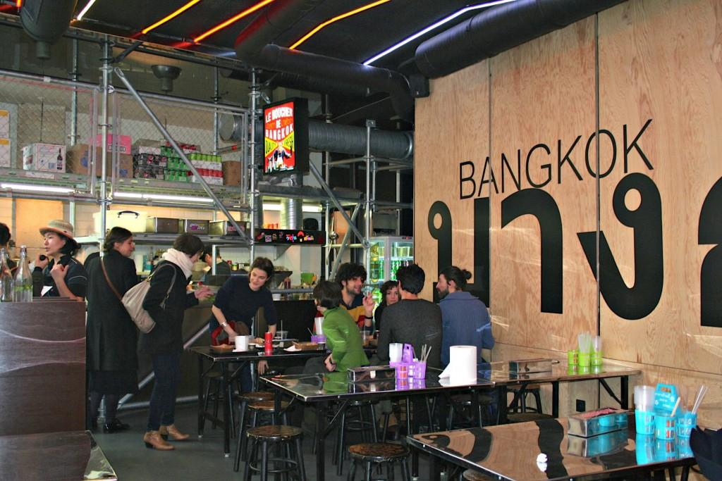 Echaffaudage - Street Bangkok