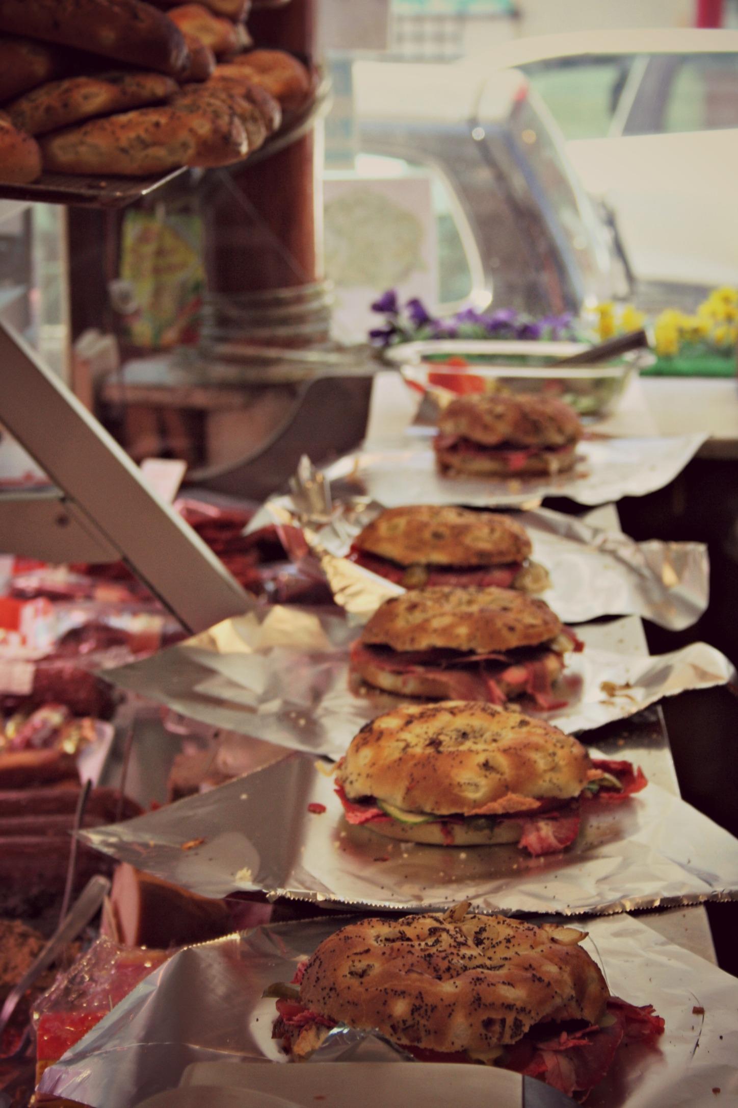 Préparation sandwiches Adriana&Margot