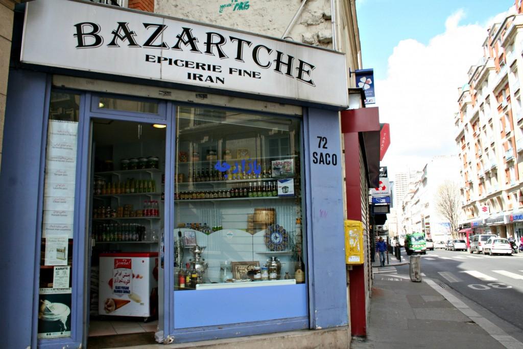 Bazartche- Epicerie fine Iran Paris