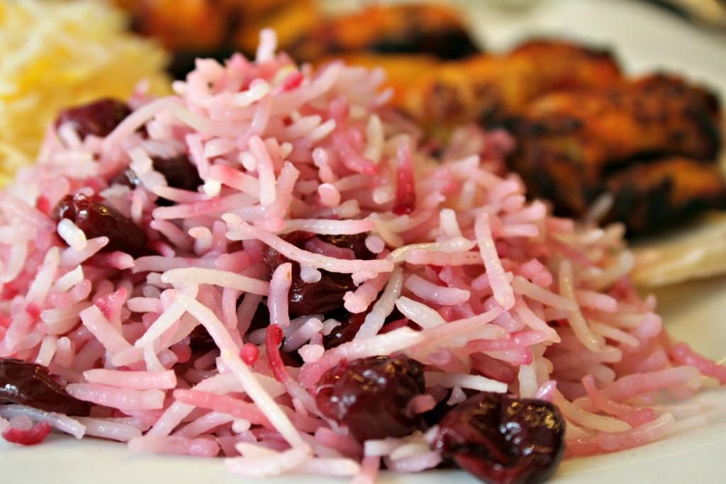 Riz à la griotte - Mazeh
