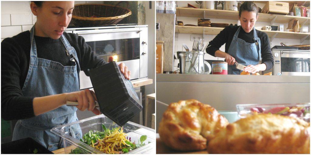 Sabrina cooks Empanaderia-the asado club