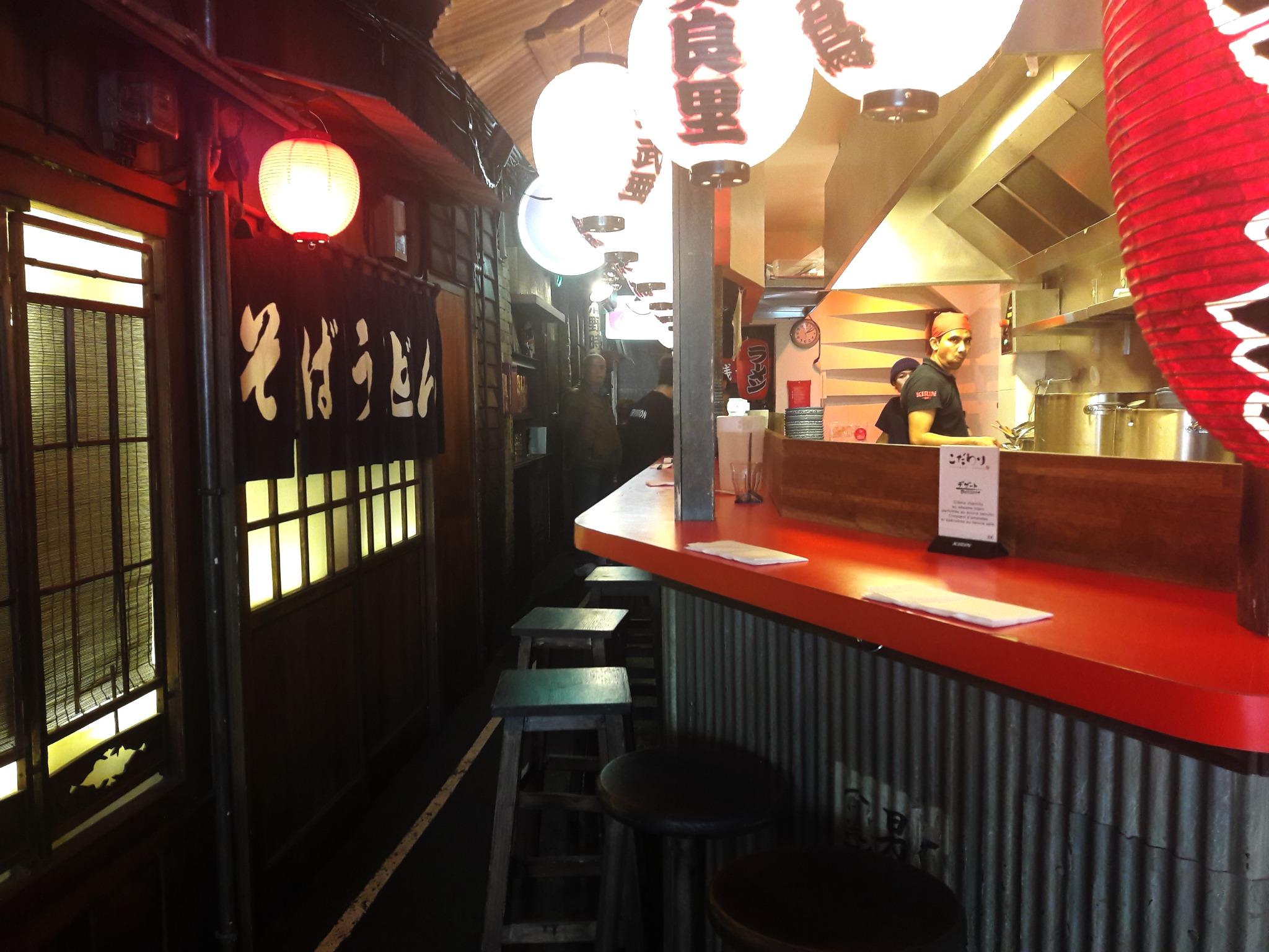 kodawari ramen comptoir cuisine