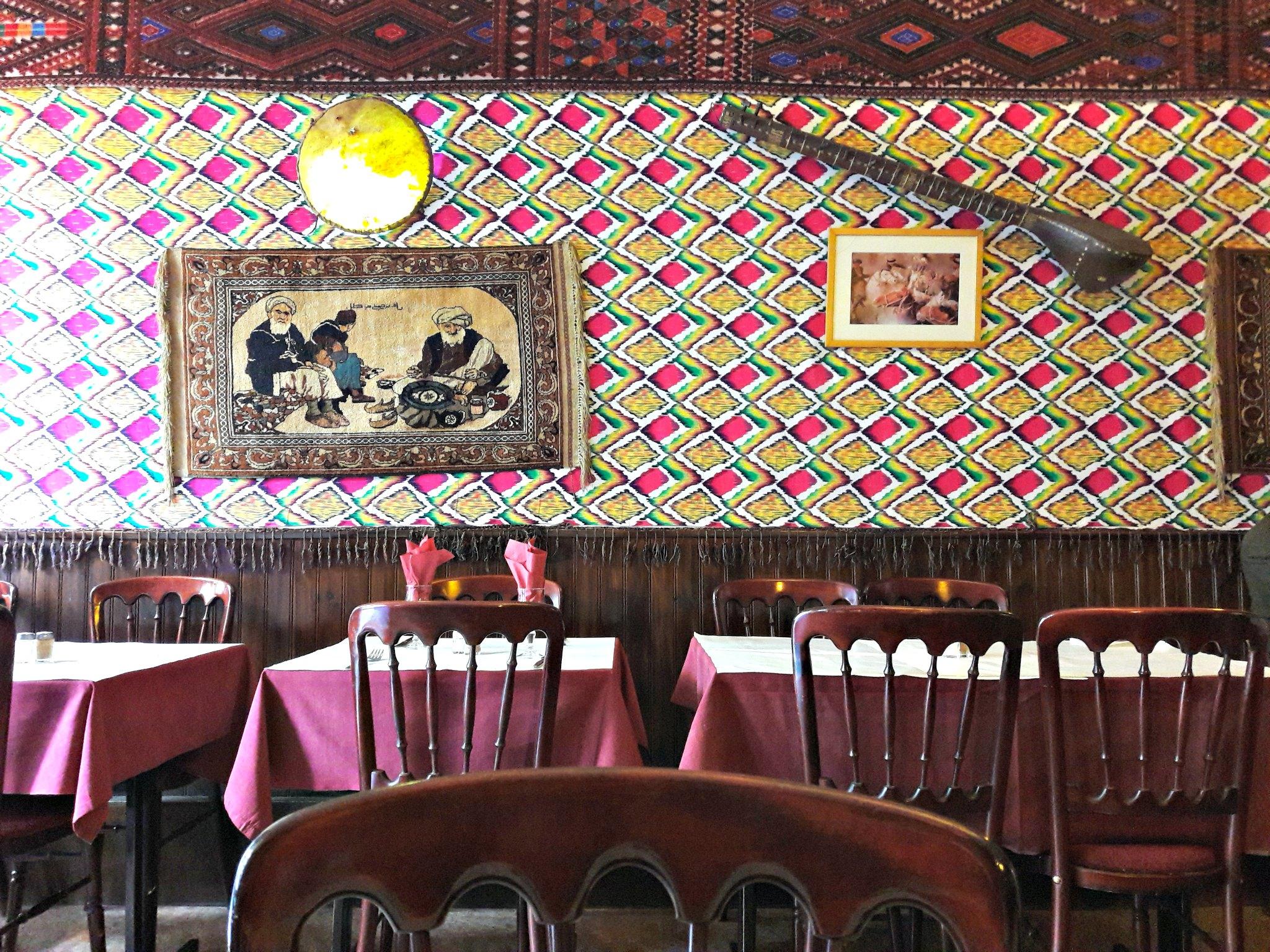 kootchi restaurant afghan paris