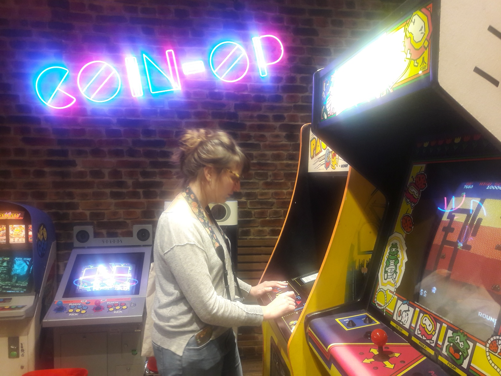 jeux arcade coin op table