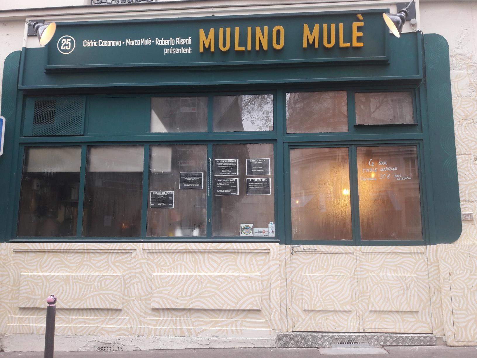 mulino mulé resto sicilien