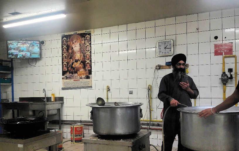 langar sikh cantine